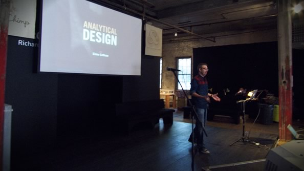 "Simon Collison giving his Analytical Design workshop"" width="